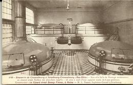 67  STRASBOURG  Brasserie Cronenbourg  Ou Kronenbourg  Salle De  Brassage Construction DEMAY Frères Année 1926 CPA - Strasbourg