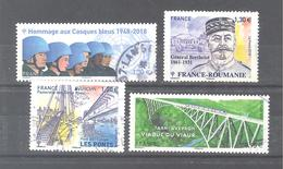 France Oblitérés : N°5218 - 5220 - 5247 & 5288 (cachet Rond) - France
