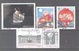 France Oblitérés : Année Du Cochon à 0,88 Et 1,30 - N°5221 & 5272 (cachet Rond) - France