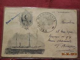 """CPA- Yacht La """" Maroussia """" Appartient à La Famille Du Duc D'Orleans - Sailing Vessels"""