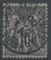 Lot N°48484  N°103, Oblit Cachet à Date De LE HAVRE-PORT, Seine-Inferieure (74) - 1876-1898 Sage (Type II)