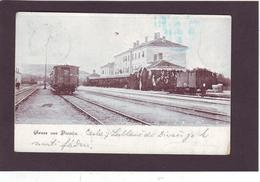 Alte AK DIVAČA Divaca Bahnhof Zug 1905 - Slovenia