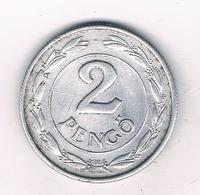 2 PENGO 1941  HONGARIJE /3581/ - Hongrie
