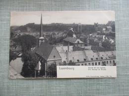 CPA LUXEMBOURG GRUND  ET SON EGLISE - Luxemburg - Town