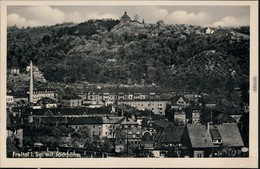 Ansichtskarte Freital Stadt, Fabrik - Jochhöhe 1940  - Freital