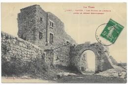 Vaour Les Ruines De L' Abbaye Après Le Récent écroulement - Vaour