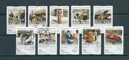 2009 Australia Complete Set 200 Years Post,self-adhesive Used/gebruikt/oblitere - 2000-09 Elizabeth II