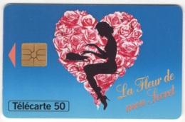 """Lot De 1 TC De 1995 Usagées """"fleur De Mon Secret"""" De M"""" 50 U. Y & T : 630 - France"""