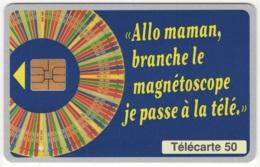 """Lot De 1 TC De 1995 Usagées """"Le Millionnaire"""" De 50 U. Y & T : 645 - France"""