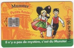 "Lot De 1 TC De 1995 Usagées ""Munster Les Petits Amis"" De 50 U. Y & T : 646 - Frankreich"