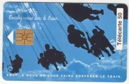 """Lot De 1 TC De 1995 Usagées """"SNCF RER Ligne B"""" De 50 U. Y & T : 664 - France"""