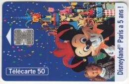 """Lot De 1 TC De 1997 Usagées """"Disneyland"""" De 50 U. Y & T : 781 - France"""