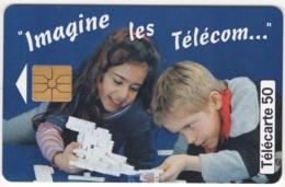 """Lot De 1 TC De 1997 Usagées """"Imagine Les Télécoms"""" De 50 U. Y & T : 785 - France"""