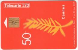 "Lot De 1 TC De 1997 Usagées ""Festival De Cannes"" AD De 120 U. Y & T : 787 - France"