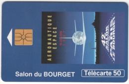 """Lot De 1 TC De 1997 Usagées """"Salon Du Bourget"""" AD De 50 U. Y & T : 793 - France"""