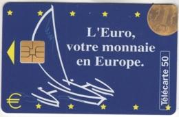 """Lot De 1 TC De 1997 Usagées """"Parlement Européen"""" AD De 50 U. Y & T : 795 - France"""