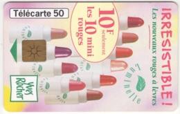"Lot De 1 TC De 1998 Usagées ""Yves Rocher - T1G"" AD De 50 U. Y & T : 909 - France"
