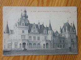 Montréjeau Chateau De Valmirande Destinataire Mme La Baronne Van Lamsweerde En Hollande 1908 - Autres Communes