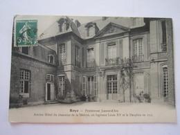 CARTE POSTALE ROYE PENSIONNAT JEANNE D'ARC 1913 - Roye