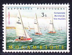 Moçambique, 1973 - Campeonato Mundial De Vela / MNH** - 3$00 - Mozambique