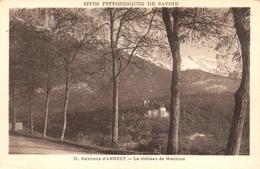 CPA 74 ENVIRONS D'ANNECY LE CHATEAU DE MENTHON - Annecy