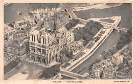 Carte Postale PARIS (75) Cathédrale Notre-Dame 1163-1260 Flèche Tombée Le 15-04-2019 -Eglise-Religion - Eglises