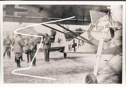 14. Juin 1940 QG De Hitler à Brûly De Pesche. Fi 156 Luftwaffe. Départ De H. Göring Vers Chimay. Repro - 1939-45