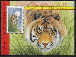 TOKELAU  BF 19  * *   Tigre - Timbres
