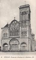 CPA 89 VEZELAY FACADE DE LA Basilique De La Madeleine - Vezelay