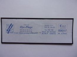 EMA  Ville De Oye-Plage, Couteau, Assiette, VK 413446 - Alimentation