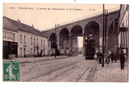 4237 - Viroflay ( 78 ) - ,L'Arrêt Du Tramway Et Le Viaduc - E.M. N°827 - - Viroflay