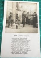 The Little Hero ~ Bamforth Ltd ~ Song Postcard - Postcards
