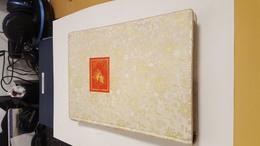 1 Album Timbres De Chine ( Album Couverture En Soie TTBE) - Collections, Lots & Séries