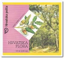 Kroatië 2002, Postfris MNH, Trees ( Booklet 10x2,80 ) - Kroatië