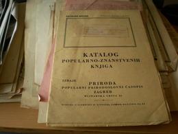 Katalog Popularno Znanstvenih Knjiga Zagreb - Books, Magazines, Comics