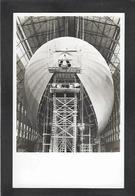 CPA Aviation Zeppelin Construction Du LZ 130 Cachet - Dirigibili
