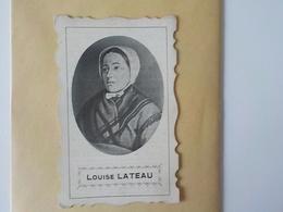 Bois D' Haine Manage Image Pieuse Souvenir Louise Lateau Née à Bois D' Haine Et Y Décédée 1850 1883 - Manage