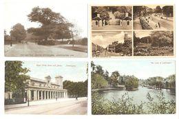 FOUR LEAMINGTON SPA WARWICKSHIRE POSTCARDS - England
