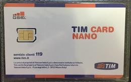 Paco \ ITALIA \ TIM \ IT-TIM-GSM-0017 ? \ TIM Card NANO - Italia