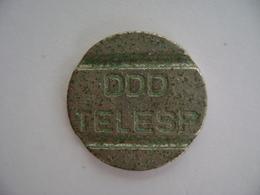 "BRAZIL - PUBLIC PHONE ""DDD TELESP"" SHEET , TOKEN IN THE STATE - Jetons & Médailles"