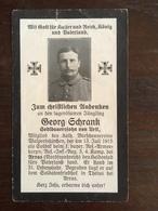 Sterbebild Wk1 Ww1 Bidprentje Avis Décès Deathcard RIR3 Juli 1915 ARRAS THELUS Aus Urtl - 1914-18