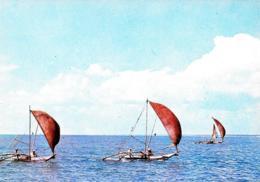 [MD3086] CPM - SRI LANKA CYLON - FISHERMEN WITH FISHING BOATS - Non Viaggiata - Sri Lanka (Ceylon)