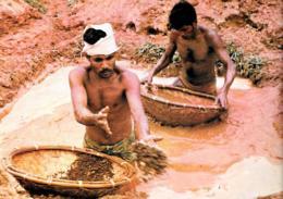 [MD3089] CPM - SRI LANKA CYLON - WASHING GEM GRAVEL RATNAPURA - Non Viaggiata - Sri Lanka (Ceylon)
