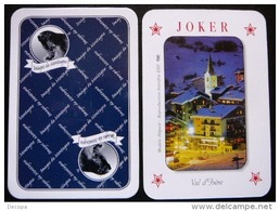 1 Joker      Val D'Isere - Cartes à Jouer Classiques