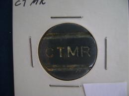"""BRAZIL - PUBLIC PHONE """" CTMR""""  SHEET , TOKEN - Entriegelungschips Und Medaillen"""