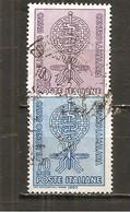Italia-Italy Yvert Nº 876-77 (usado) (o) - 1961-70: Used
