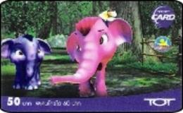 Thailand Phonecard TOT  New Nr.195 Elefant Elephant - Thailand