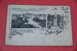 Hessen Arolsen Gruss 1899 - Germany
