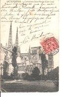 105. Bordeaux. Cathédrale Saint André. (Côté Sud). De Métayer à M. Boucher Au Grand Séminaire à Montferrand. - Bordeaux
