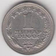 @Y@   Joegoslavië  1 Dinar  1968          (4694) - Yugoslavia